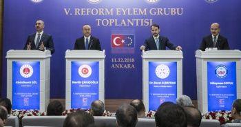5. Reform Eylem Grubu Toplantısı'nda önemli mesajlar