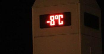 Ankara buz kesti