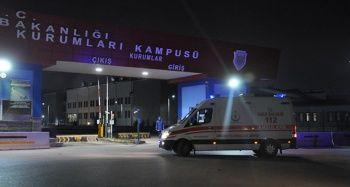 Ankara'da cezaevinde arbede: 21 yaralı