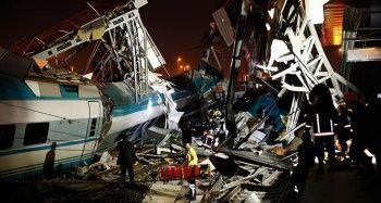 Ankara'da YHT kazası: 9 kişi hayatını kaybetti 89 yaralı