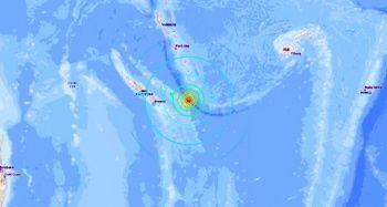 Avustralya'nın doğusunda 7.5 büyüklüğünde deprem