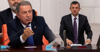 Hulusi Akar'dan CHP'lilere sert sözler: Kafanızda tabanca varken...
