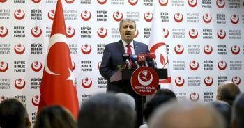 BBP Genel Başkanı Mustafa Destici'den önemli ittifak açıklaması