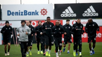 Beşiktaş Malmö maçı hazırlıklarına başladı