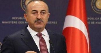 Çavuşoğlu: Teröristleri temizlememize kimse engel olamaz
