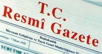 Çevrenin korunmasına ilişkin kanun Resmi Gazete'de