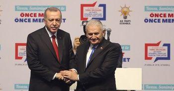Cumhurbaşkanı Erdoğan'dan Binali Yıldırım açıklaması