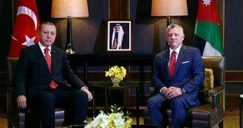 Cumhurbaşkanı Erdoğan, Kral Abdullah ile telefonda görüştü