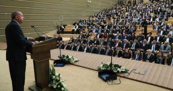 Cumhurbaşkanı Erdoğan: Kültür ve sanatı ülkenin bir sembolü olarak görüyoruz