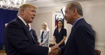 Cumhurbaşkanı Erdoğan ve Donald Trump görüştü