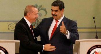 Cumhurbaşkanı Erdoğan ve Maduro'dan basın toplantısı