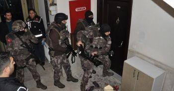Denizli'de uyuşturucu satılarına şafak operasyonu