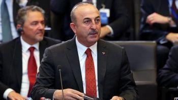 Dışişleri Bakanı Çavuşoğlu'ndan NATO'da diplomasi trafiği