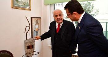Ekrem İmamoğlu'dan eski başkanlara ziyaret