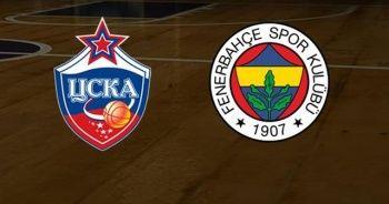 Fenerbahçe CSKA Moskova THY Euroleague maçı ne zaman? FB basket maçı saat kaçta, hangi kanalda?