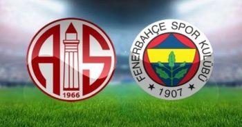 Fenerbahçe ile Antalyaspor Maçı Canlı İzle | Fenerbahçe ile Antalyaspor Maçı Canlı skor kaç kaç ( FB ANTALYA Bein Sports İZLE Lig TV)