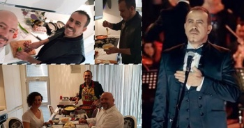 Haluk Levent 'evde kahvaltı' sözünü tuttu