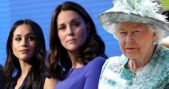 İngiliz Kraliyet'i, Kate Middleton ve Meghan Markle arasındaki kavgayı sızdıran köstebeği arıyor
