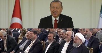 İran heyeti Cumhurbaşkanı Erdoğan'ın o sözlerini duyunca...
