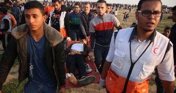 İsrail askerleri Gazze sınırında 28 Filistinliyi yaraladı