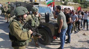 İsrail güçleri ile Filistinliler arasında arbede