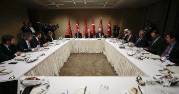 Kemal Kılıçdaroğlu televizyon temsilcileriyle bir araya geldi