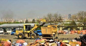 Kuzey Ankara'daki metruk yapılar kaldırılıyor