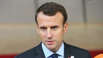 Macron: Paris'teki olayların sorumluları cezalandırılacak