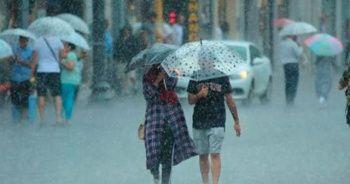 Meteoroloji saat verdi, kuvvetli yağış ve fırtına uyarısı