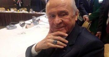 MHP Lideri Bahçeli çok merak edilen yüzüğünü anlattı