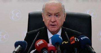 MHP lideri Devlet Bahçeli tren kazasına ilişkin açıklamalarda bulundu