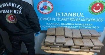 Muz yüklü gemiden 16 milyonluk kokain çıktı