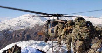 PKK'nın kış üstlenmesine 9 bin 765 operasyon
