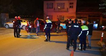 Polisin üzerine araç süren ehliyetsiz ve alkollü sürücü kaçamadı