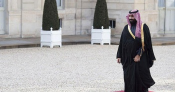 Suudi Veliaht Prens Bin Selman Moritanya'da