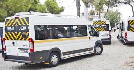 34 bin okul servisinden 599'u trafikten men edildi