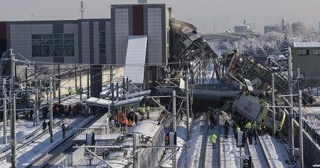 Ankara'daki tren kazasında 3 kişi tutuklandı