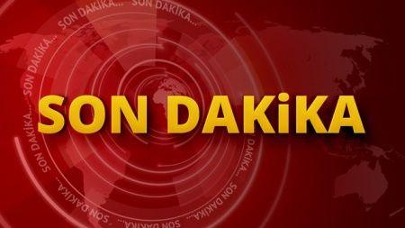 Beşiktaş'ta yol çöktü: Kamyonet çukurun içine düştü