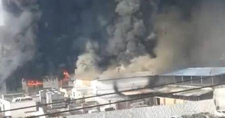 Çin'de fabrikada yangın: 11 ölü