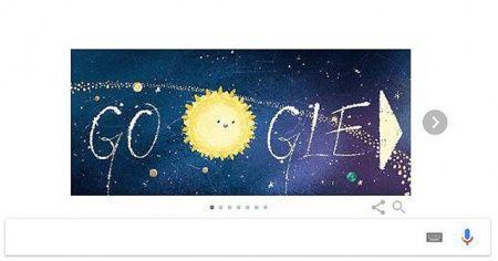 Google 'Geminid meteor yağmuru'nu doodle ekranına taşıdı