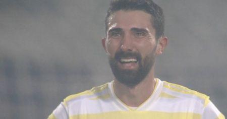 Hasan Ali Kaldırım, Akhisarspor mağlubiyetinin ardından gözyaşlarını tutamadı
