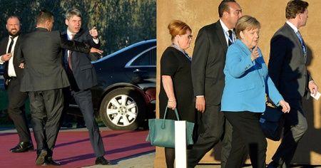 Merkel neye uğradığını şaşırdı