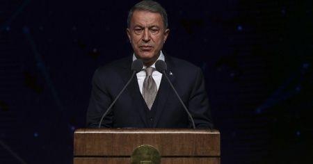 Milli Savunma Bakanı Hulusi Akar: Teröristlerin eğitilip donatılması kabul edilemez