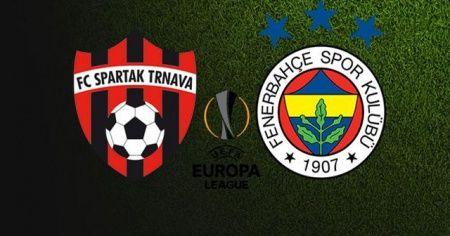 Spartak Trnava Fenerbahçe maçı canlı izle, Fenerbahçe maçı şifresiz izle | FB Spartak maçı kaç kaç?