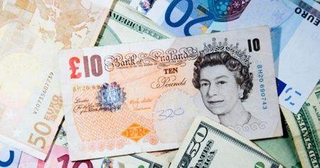 Sterlin, euro karşısında 3 ayın en düşük seviyesinde