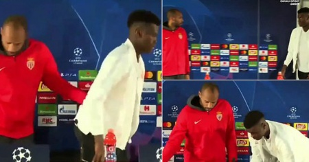 Thierry Henry, genç oyuncusunu azarladı