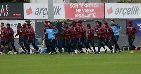 Trabzonspor Beşiktaş maçı hazırlıklarına başladı