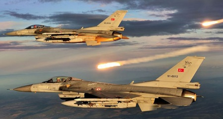 TSK'dan hava harekâtı: 7 terörist etkisiz hale getirildi