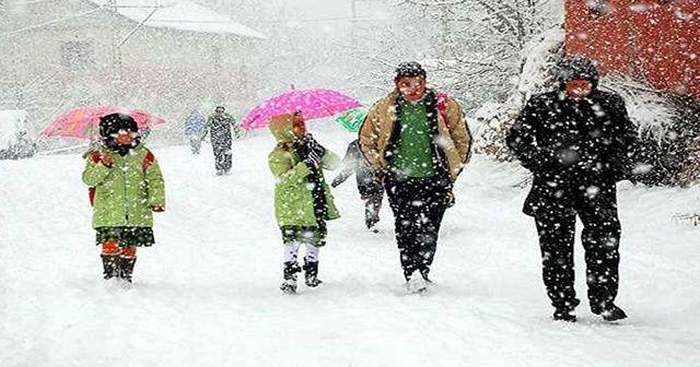 34  ilde okullar tatil edildi? İşte kar tatili olan il ve ilçeler