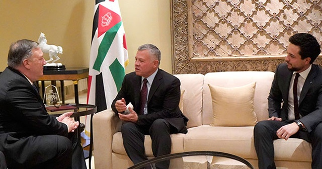 ABD Dışişleri Bakanı Pompeo, Ürdün Kralı ile görüştü